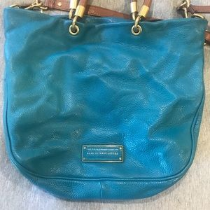 Gorgeous turquoise Marc by Marc Jacobs bag!
